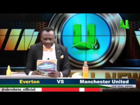 African journalist can't pronounce the names of Football Teams