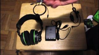 turtle beach x42 headset unboxing