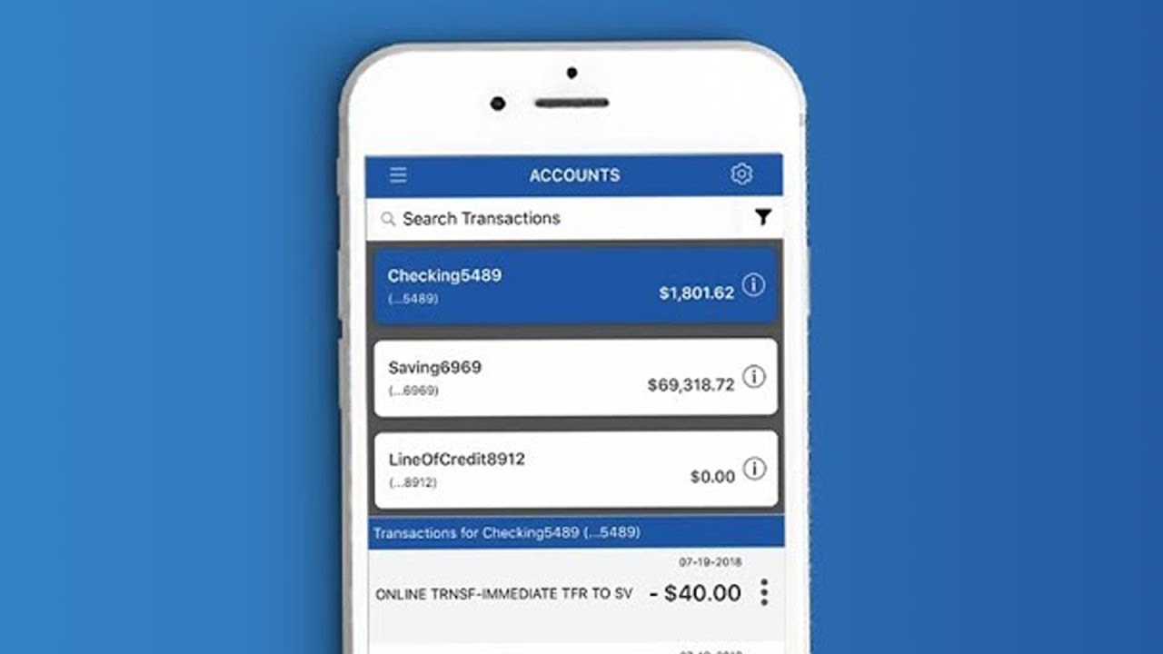 Mobile Banking Manage Your Money From