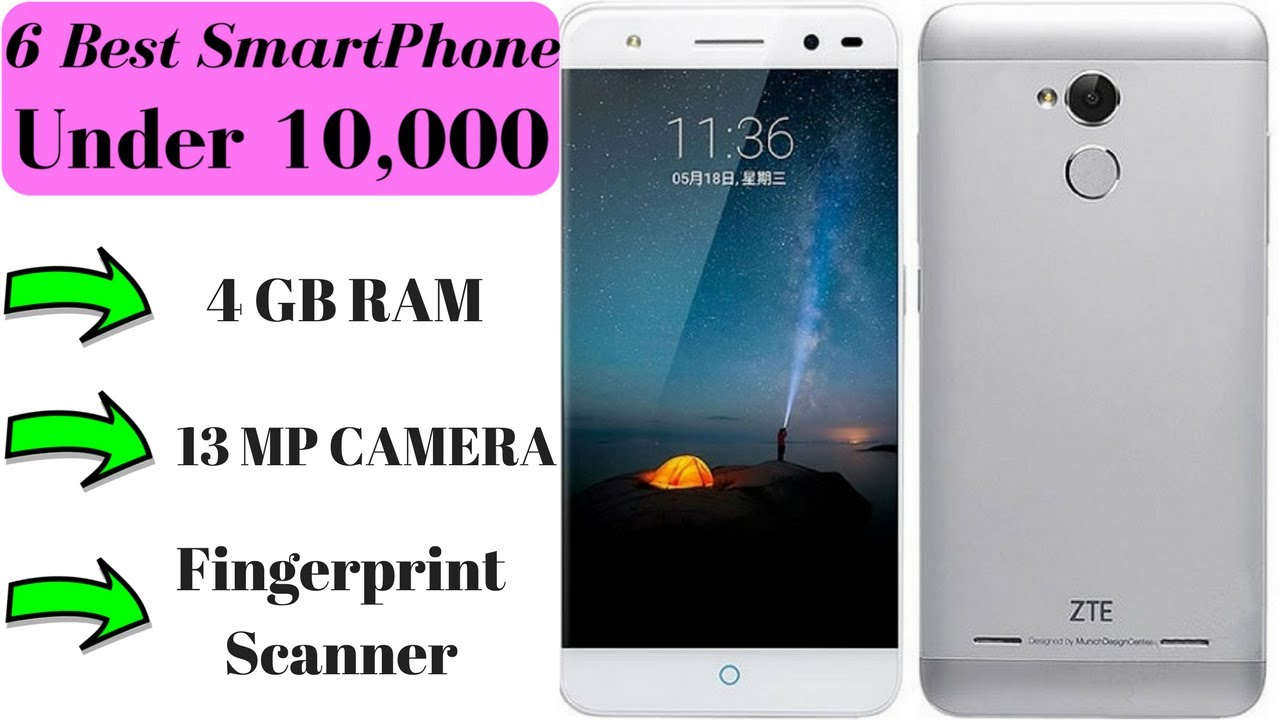 top 6 best smartphone under 10 000 in 2017 4gb ram 13mp camers fingerprint scanner youtube. Black Bedroom Furniture Sets. Home Design Ideas