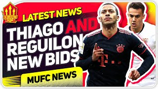 Reguilon AND Thiago BIDS Confirmed!? Man Utd Transfer News