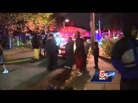 Boston firefighters injured in Dorchester