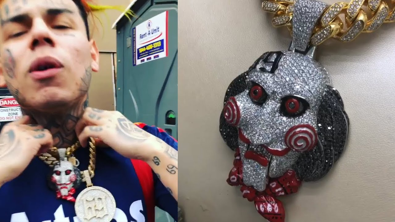 69 Chain Jigsaw: 6ix9ine Buys New $300K Jigsaw Chain