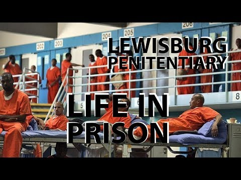 Life in prison! Pennsylvania State/ Federal Penitentiary - SUPERMAX - Maximum security unit!