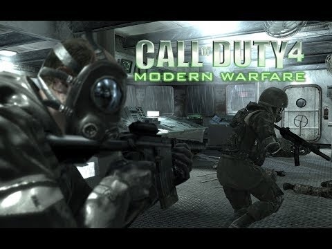 75a2cb46ecd Call Of Duty 4 Modern Warfare gameplay HD - Crew Expendable mission ...