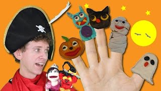 Finger Family Halloween Song with Matt | Action Song, Nursery Rhymes | Learn English Kids, Preschool