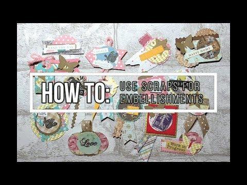 Margarita Monday - DIY Scrap Paper Embellishments