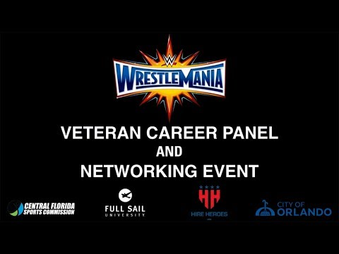 WWE and Hire Heroes USA Veteran Career Panel at Full Sail University