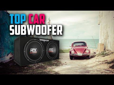 Best Car Subwoofers 2019 - Budget Ten Sub Woofers Review