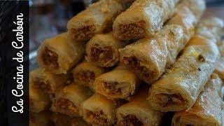BAKLAVA receta árabe tradicional-RECETA FÁCIL Y DELICIOSA