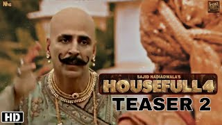 Housefull 4 Teaser 2 Out now | Housefull 4 Advance booking open, Akshay Kumar, Ritiesh deshmukh