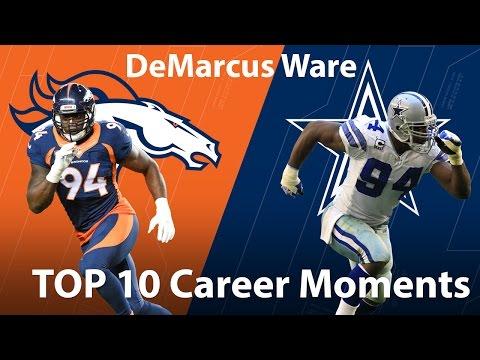 DeMarcus Ware's Top 10 Career Moments | NFL