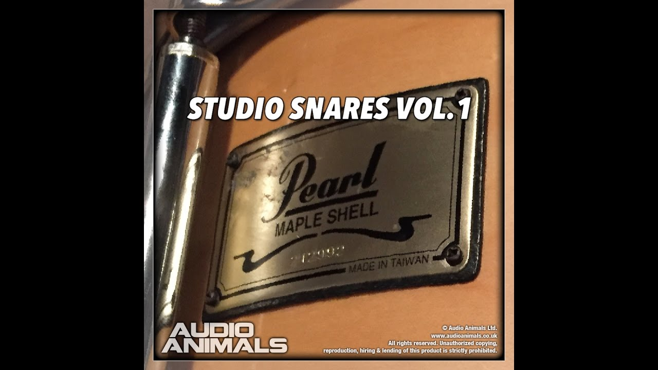 Studio Snares Vol 1 (Wav + Kontakt Sample Pack)