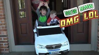 BMW Baja Power Wheels SportTrax Kids Vehicle with SECRET DRIVER!