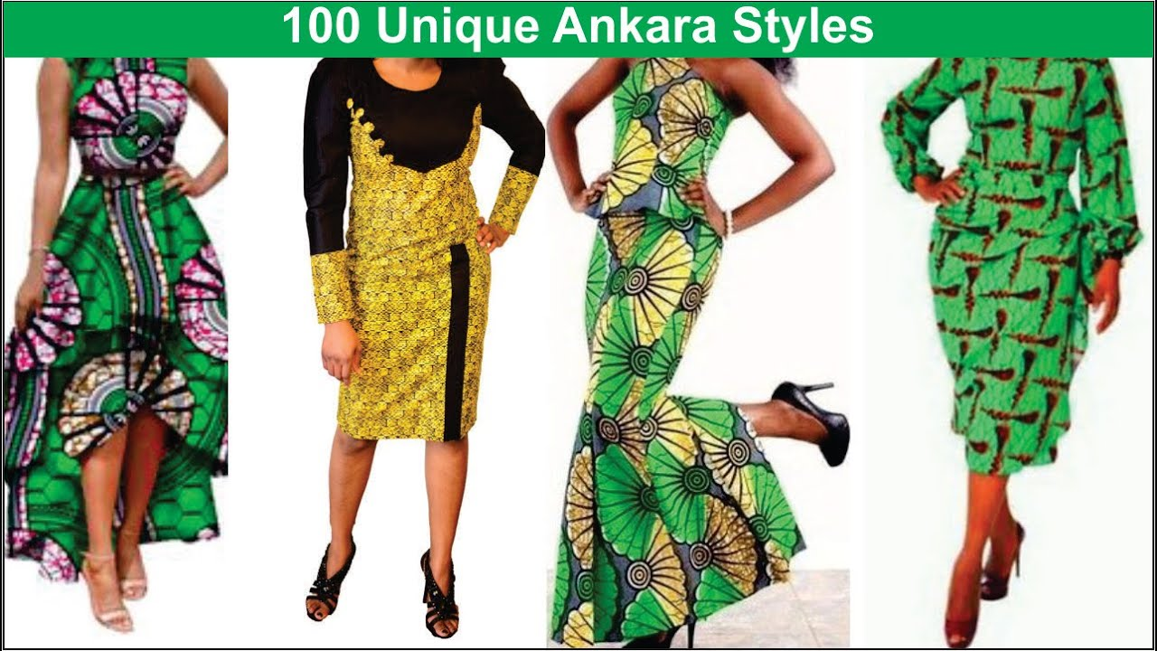 100 Unique Ankara Styles : Simple and Beautiful Ankara Styles - YouTube