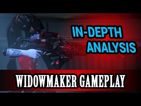 Overwatch - In-Depth Gameplay Analyis Episode 4 - WidowMaker: Positioning and Decision Making