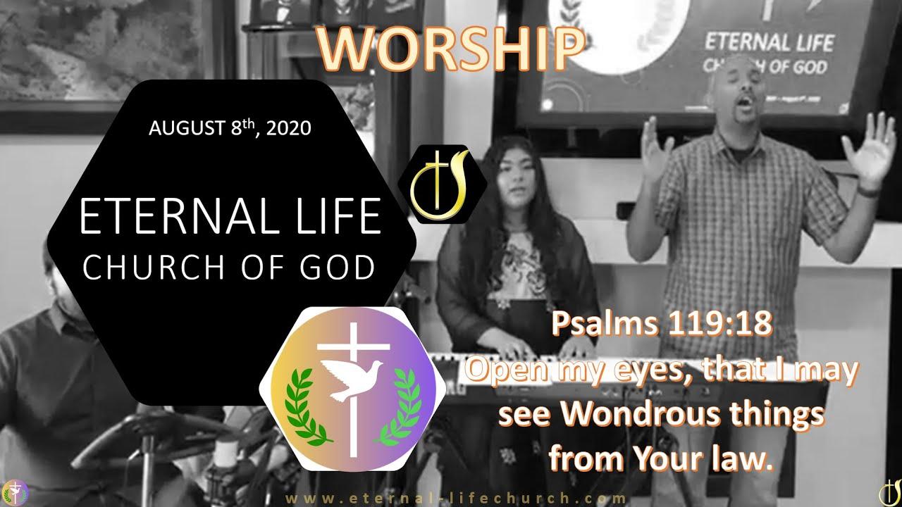 Sunday Worship Set - 8/9/2020