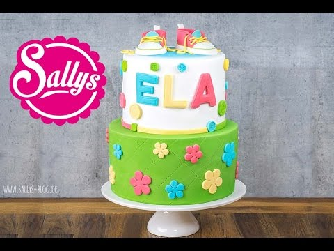 Baby Torte Baby Shower Cake Sallys Welt Youtube