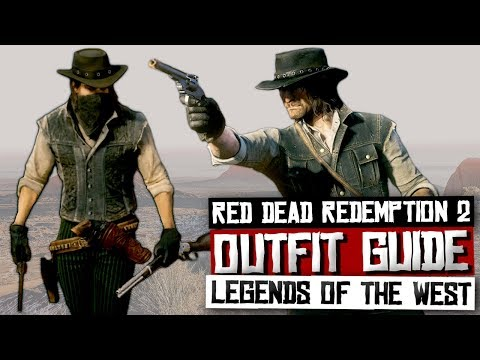 How To Dress Like John Marston Red Dead Redemption 2 Red