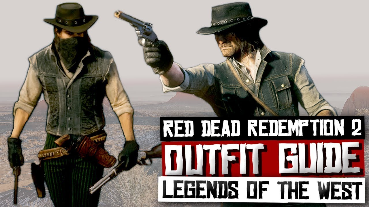 How To Dress Like John Marston Red Dead Redemption 2 Red Dead Online Outfit