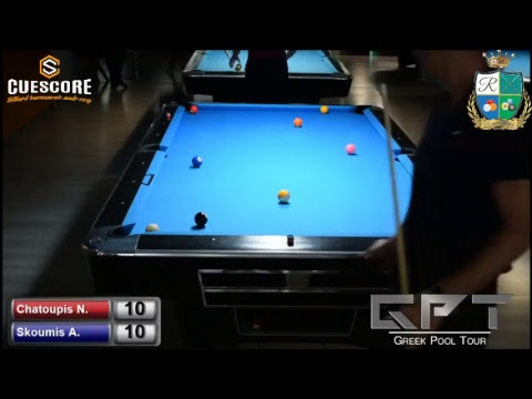 Royal Billiards Club B' Division Tournament (Chatoupis N. - Skoumis A. )