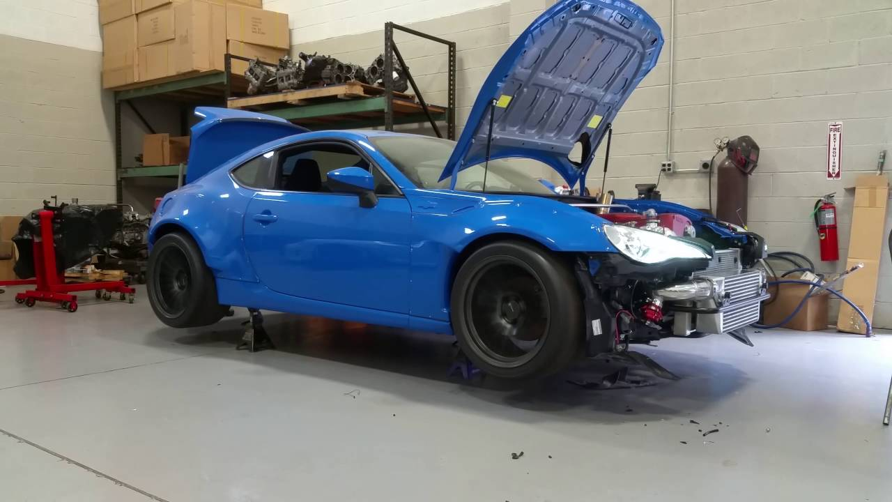 Scion FRS with a 1,000 HP RB26 and Skyline AWD Drivetrain – Engine