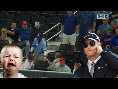 Braves security guard takes ball from kid and removes fans | 5.24.2017
