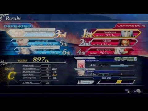 Dissidia Final Fantasy NT is a fair and balanced game.