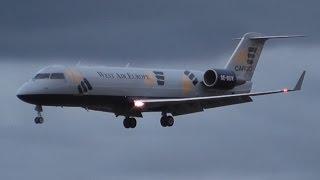 [RIP] West Air Sweden CRJ-200 Landing at Oslo Gardermoen Airport