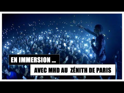 Mhd met le feu au Zénith de Paris avec Alonzo, Gradur, Kalash Criminel, Topas