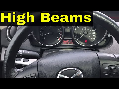 How To Use High Beams On A Car