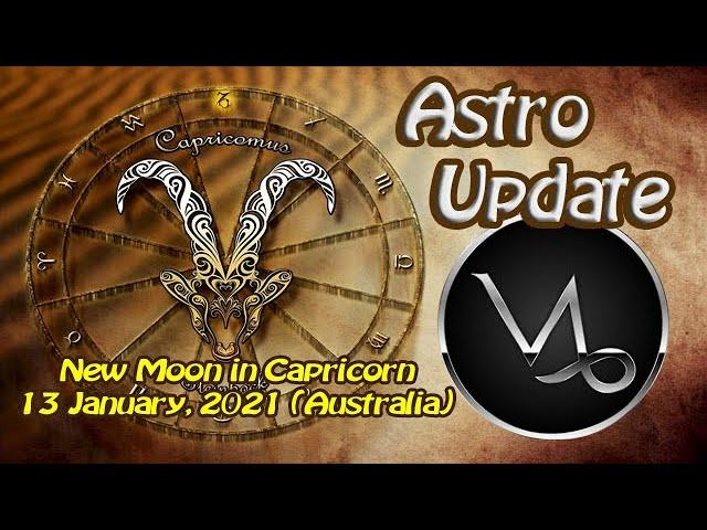 New Moon in Capricorn 13 January, 2021