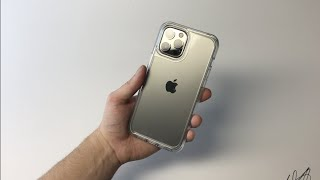 Otterbox Symmetry CLEAR Case Unboxing and Review (iPhone 12 Pro Max)