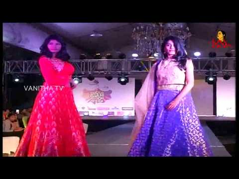 Models Ramp Walk In Western & Traditional Wear || India Glam Fashion Week || Vanitha TV