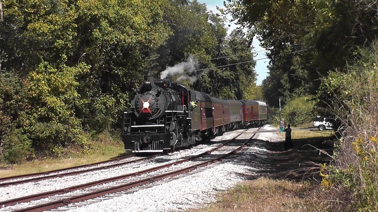 Southern Railway 4501 in Summerville, Georgia - YouTube