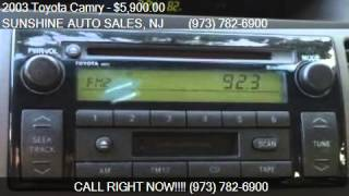 2003 Toyota Camry LE 4dr LOW MILES GAS SAVER for sale in Pat