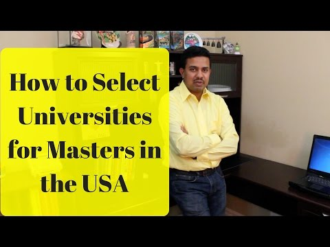 How to select universities for ms in us | How should select university in masters | Step focus |