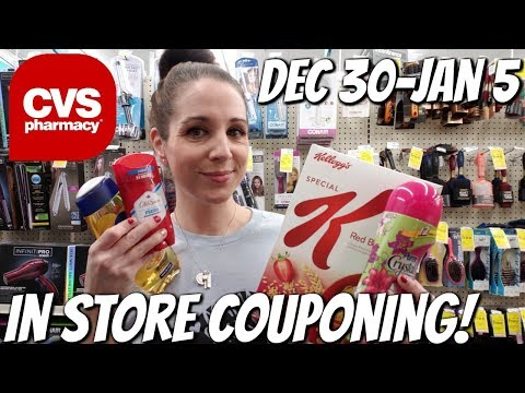 CVS IN STORE COUPONING 12/30/18-1/5/19 41 CENT SHAMPOO & TIDE/HOT CEREAL & CLEARANCE FINDS!