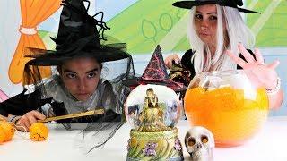 Kız oyunları. Cadılar ile küredeki esir kıza yardım ediyoruz!