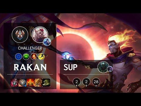 Rakan Support vs Pyke - EUW Challenger Patch 10.18