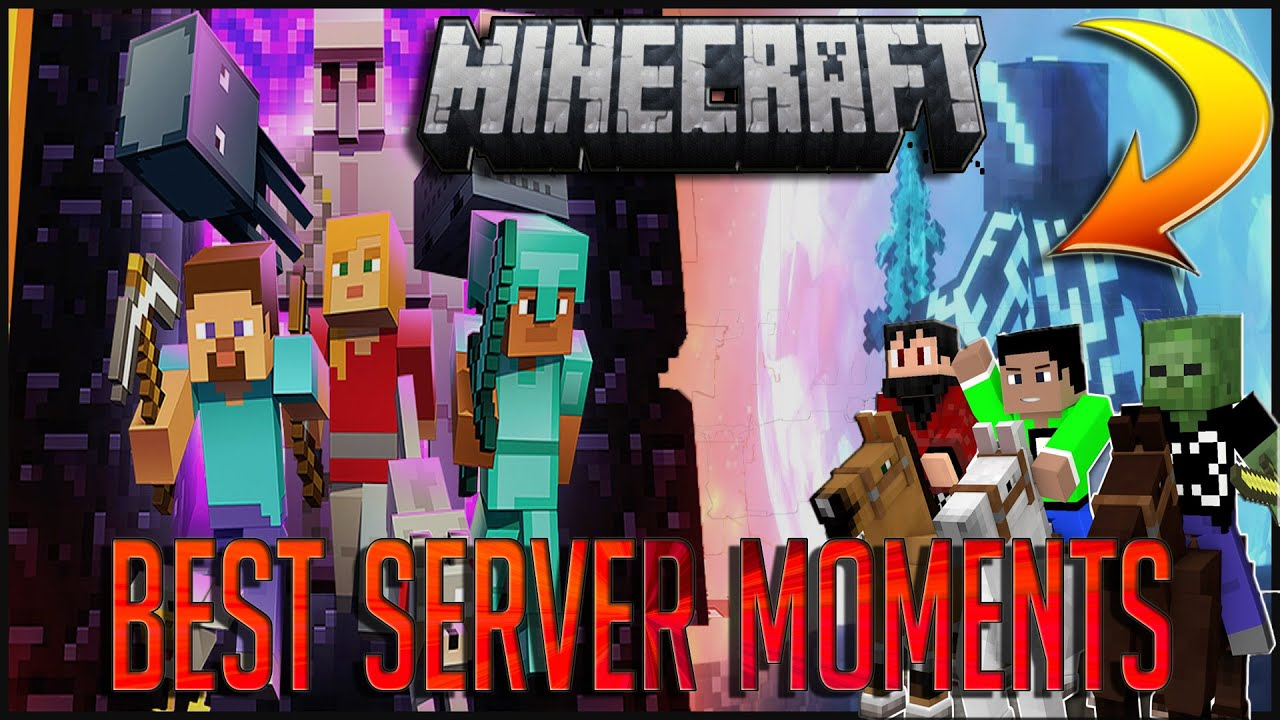 BEST MOMENTS ON THE MINECRAFT SERVER ⛏️🤣