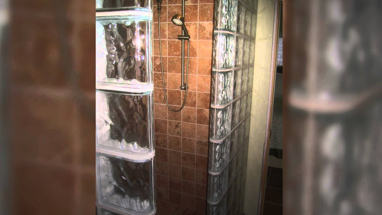 Thinner Glass Blocks For Shower Wall Bar Projects Save