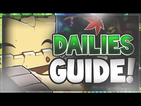 MapleStory - Guide To Dailies (2018)