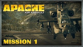 Apache: Air Assault :: PC :: Прохождение :: Миссия 1