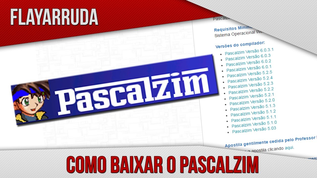 PASCALZIM BAIXAR PROGRAMA O