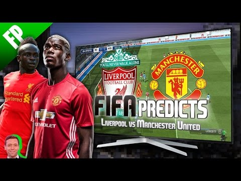 Liverpool v. Manchester United - FIFA Predicts!