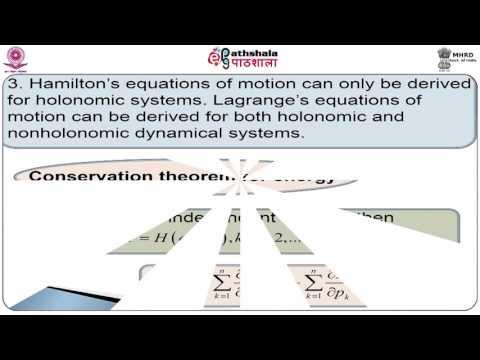 Hamilton's equations of motion (Math)