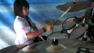 you reign BY:jctgbtg Pasig extention drum cover by :leah