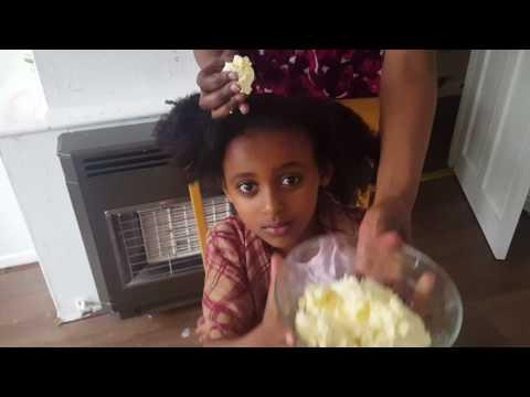 የጸጉር ቅቤ እወጣጥ እና እቀባብ በቃል Ethiopian home made hair butter