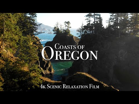 The Oregon Coast - 4K Scenic Relaxation Film with Calming Music